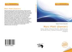 Capa do livro de Marc Platt (Dancer)