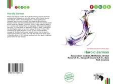 Portada del libro de Harold Jarman