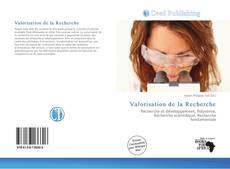 Buchcover von Valorisation de la Recherche