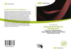 Couverture de Impact of health on intelligence