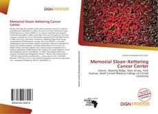 Borítókép a  Memorial Sloan–Kettering Cancer Center - hoz