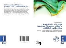 Athletics at the 1988 Summer Olympics – Men's 400 Metres Hurdles的封面