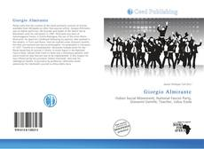 Buchcover von Giorgio Almirante