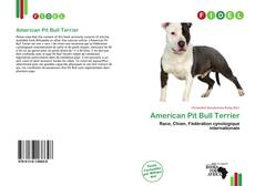 Bookcover of American Pit Bull Terrier