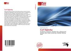 Bookcover of Carl Oglesby