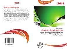 Portada del libro de Gautam Rajadhyaksha