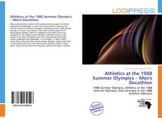 Capa do livro de Athletics at the 1988 Summer Olympics – Men's Decathlon