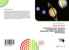 Bookcover of Beta Eridani
