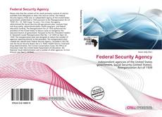Bookcover of Federal Security Agency