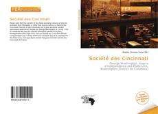 Bookcover of Société des Cincinnati