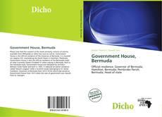 Buchcover von Government House, Bermuda