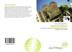 Alejandra Meyer kitap kapağı