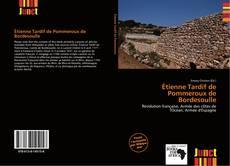 Bookcover of Étienne Tardif de Pommeroux de Bordesoulle