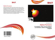 Bookcover of Alpha Fornacis