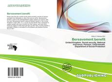 Bookcover of Bereavement benefit