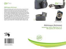 Portada del libro de Abhinaya (Actress)