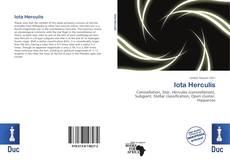 Iota Herculis kitap kapağı
