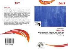 Lois Utz kitap kapağı