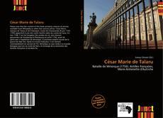 Buchcover von César Marie de Talaru