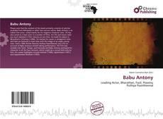 Babu Antony的封面