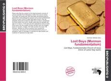 Portada del libro de Lost Boys (Mormon fundamentalism)