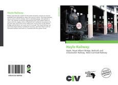 Capa do livro de Hayle Railway