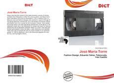 Bookcover of José María Torre