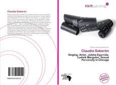 Buchcover von Claudia Soberón