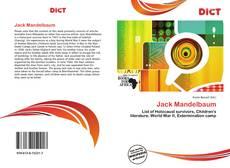 Borítókép a  Jack Mandelbaum - hoz