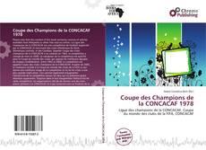 Coupe des Champions de la CONCACAF 1978 kitap kapağı