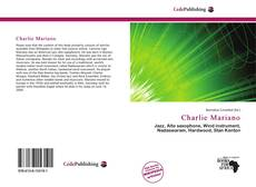 Portada del libro de Charlie Mariano