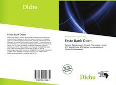 Erste Bank Open kitap kapağı