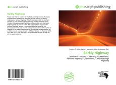Bookcover of Barkly Highway