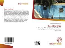 Couverture de Kossi Province