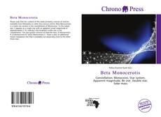 Bookcover of Beta Monocerotis