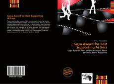 Portada del libro de Goya Award for Best Supporting Actress