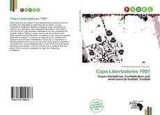 Обложка Copa Libertadores 1981
