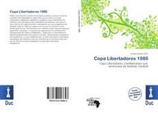 Обложка Copa Libertadores 1986