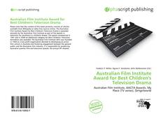 Buchcover von Australian Film Institute Award for Best Children's Television Drama