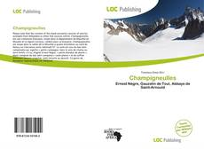 Bookcover of Champigneulles
