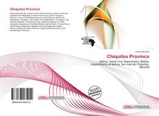 Bookcover of Chiquitos Province
