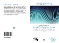 Capa do livro de Curral Velho, Cape Verde