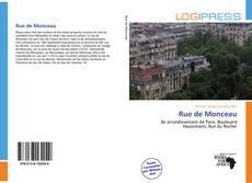 Bookcover of Rue de Monceau