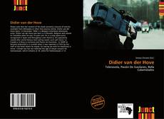 Bookcover of Didier van der Hove