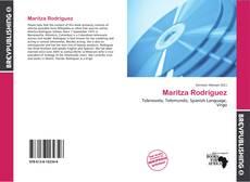 Buchcover von Maritza Rodríguez