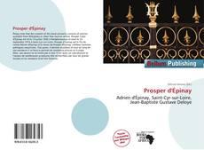 Couverture de Prosper d'Épinay