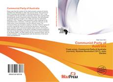 Bookcover of Communist Party of Australia