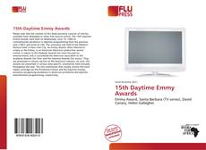 Capa do livro de 15th Daytime Emmy Awards