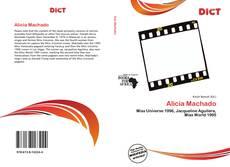 Capa do livro de Alicia Machado