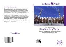 Portada del libro de Geoffroy Ier d'Anjou